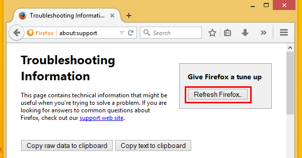 Browser Reset Chrome Reset Firefox to Fix Browser Problems 11