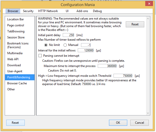 Configure Firefox without About Config with an Add-on 07