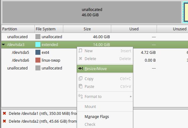 Delete Windows from Linux Mint - Ubuntu Dual-Boot 07