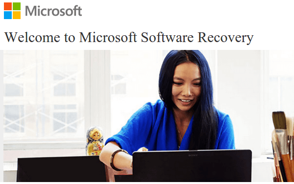 Microsoft Software Recovery