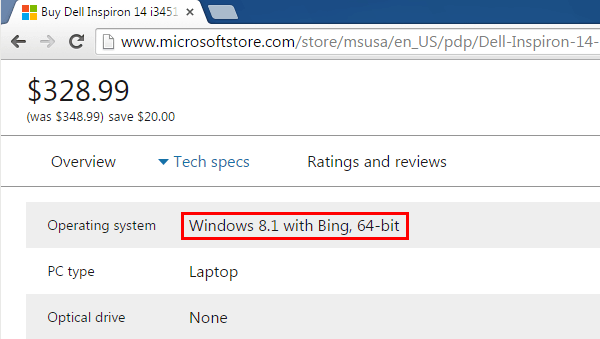 windows 8.1 con bing download iso