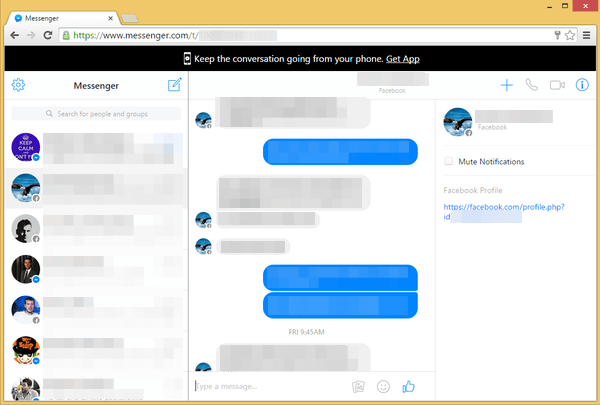 Facebook Chat Outside of Facebook with Messenger.com 04