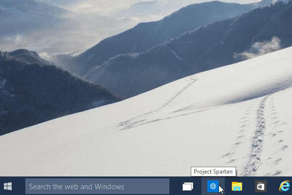 Microsoft Edge - first look in windows 10 08