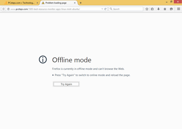 Browse Offline with Google Chrome and Mozilla Firefox 06