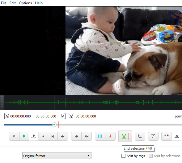 Cut a Video Without Loss in Quality, with Free Video Editor 12