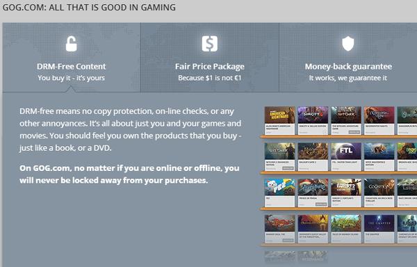 GOG Galaxy - A DRM-Free Steam Alternative Beta 16