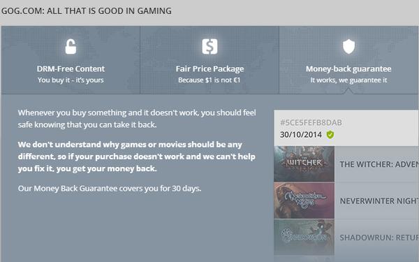 GOG Galaxy - A DRM-Free Steam Alternative Beta 18