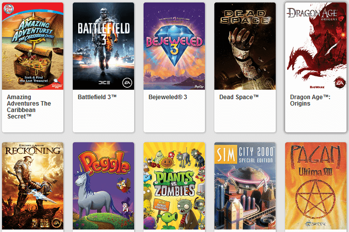 Get Free Classic Games with Origin On the House 14