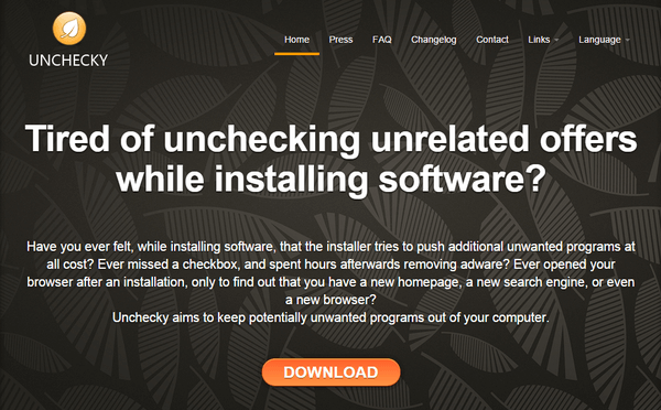 Safe Installation for All Free Apps with Unchecky 01