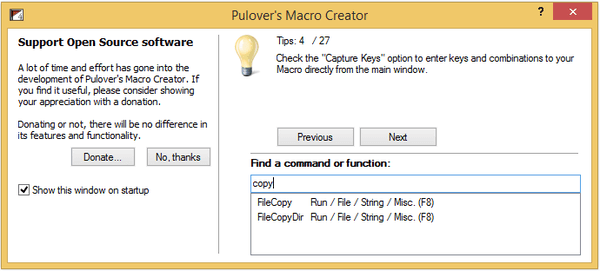 Windows Automation with the Free Pulover's Macro Creator 05