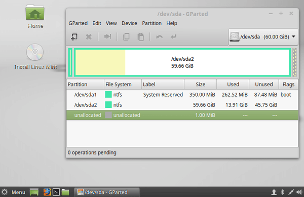 Gnome Partition Editor - The Best Linux Partition Manager 09