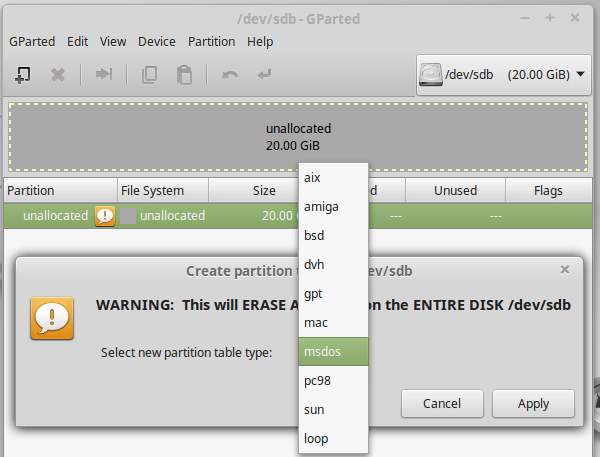 Gnome Partition Editor - The Best Linux Partition Manager 24a
