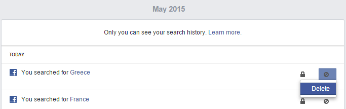 How To Completely Clear Delete Facebook Search History in my Profile 05
