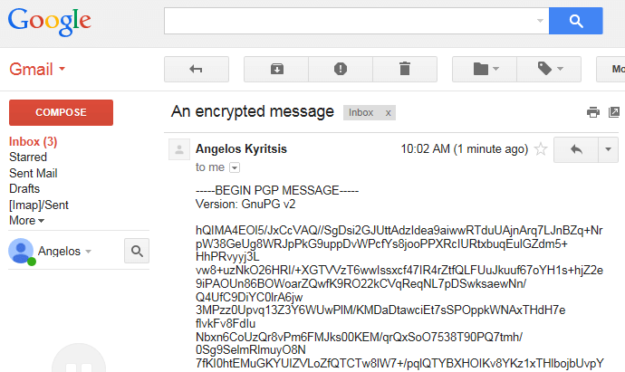 Send Secure Email Messages with OpenPGP Encryption | PCsteps com