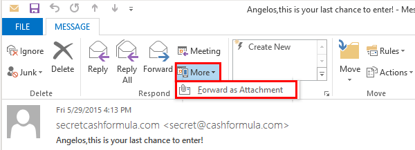 How to Forward Email as An Attachment 20