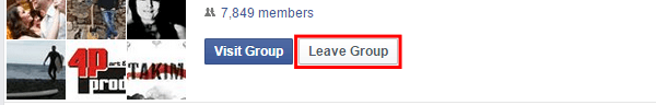 How to Leave Facebook Groups Quickly Automatically, with a Script 09