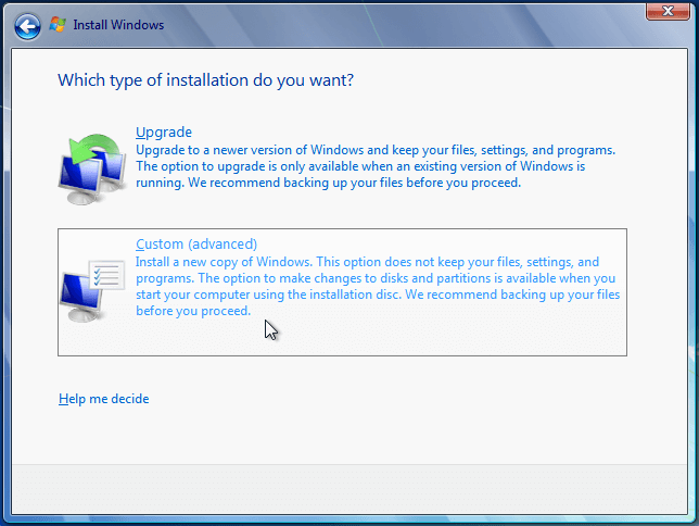 Install Windows 7 from USB or DVD, Step By Step 08