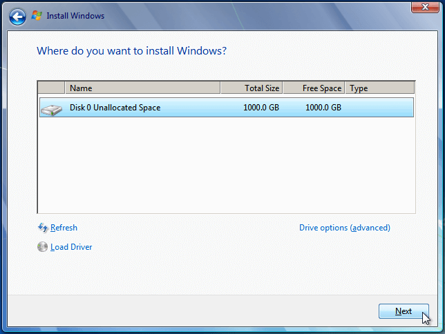 Install Windows 7 from USB or DVD, Step By Step 09