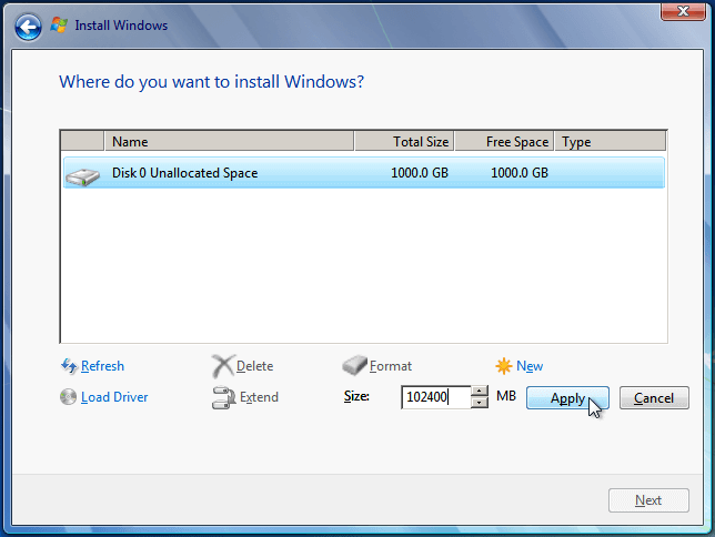 Install Windows 7 from USB or DVD, Step By Step 11