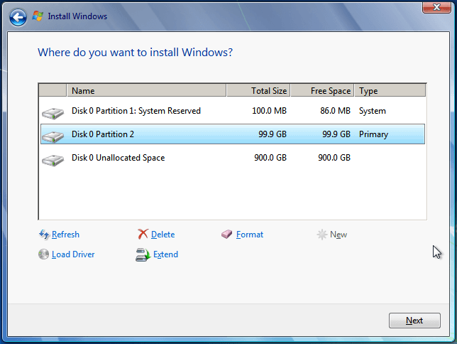 Install Windows 7 from USB or DVD, Step By Step 13