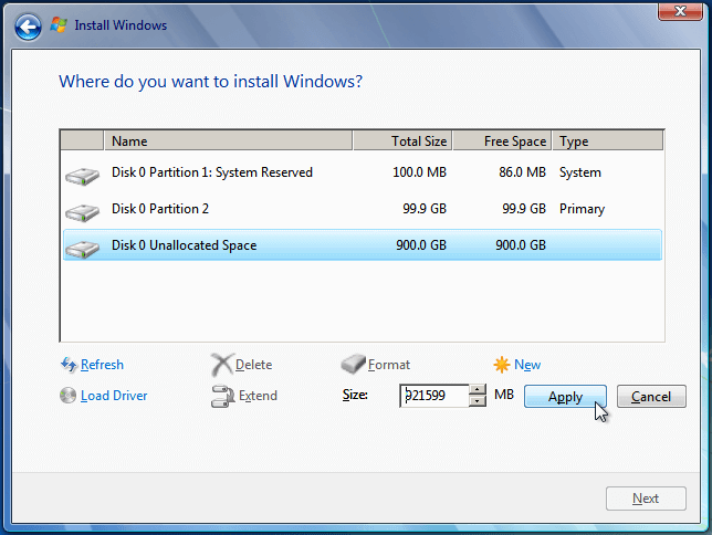 Install Windows 7 from USB or DVD, Step By Step 14