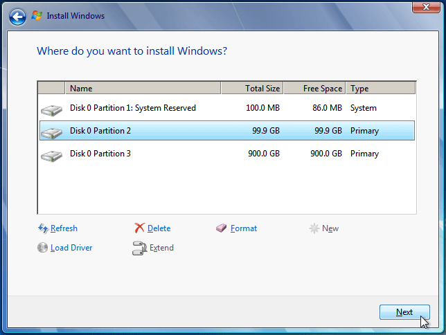 Install Windows 7 from USB or DVD, Step By Step 15