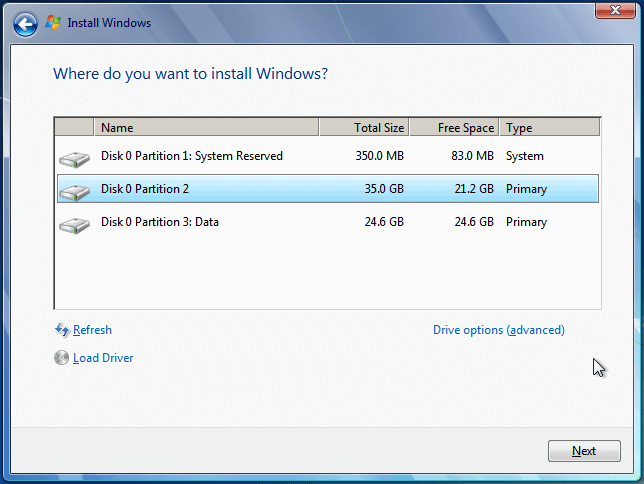 Install Windows 7 from USB or DVD, Step By Step 16