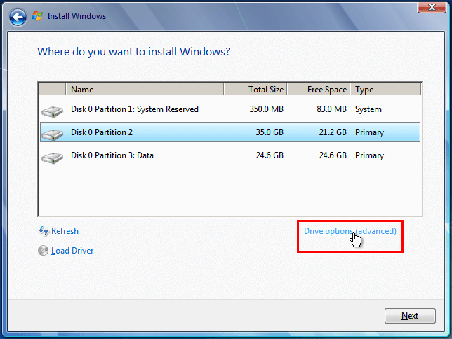 Install Windows 7 from USB or DVD, Step By Step 17