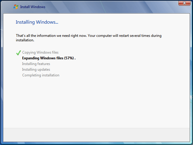 Install Windows 7 from USB or DVD, Step By Step 33