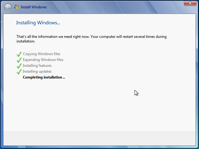 Install Windows 7 from USB or DVD, Step By Step 34