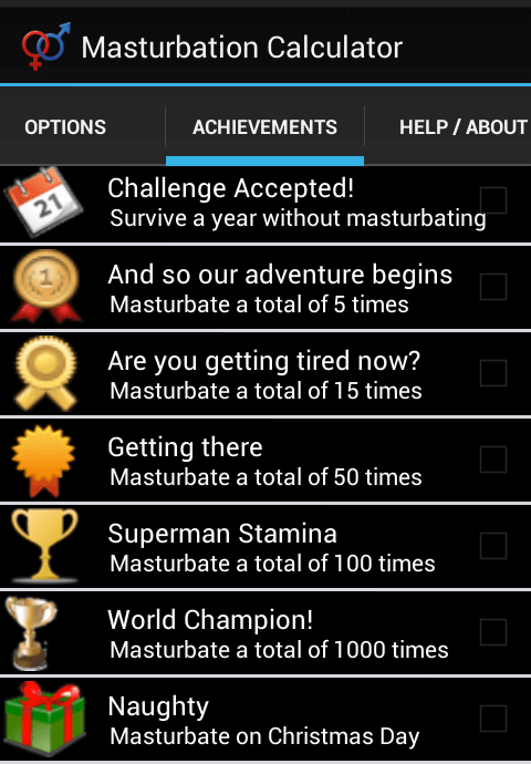Masturbation Calculator for Android 06
