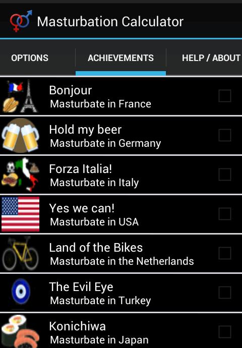 Masturbation Calculator for Android 07