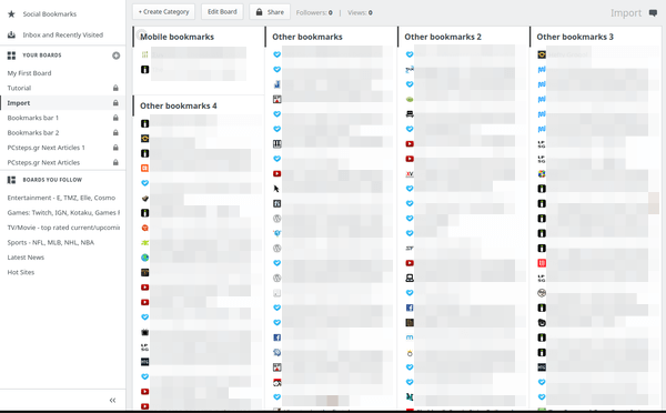 Organize Bookmarks in Chrome - Firefox with Papaly 11