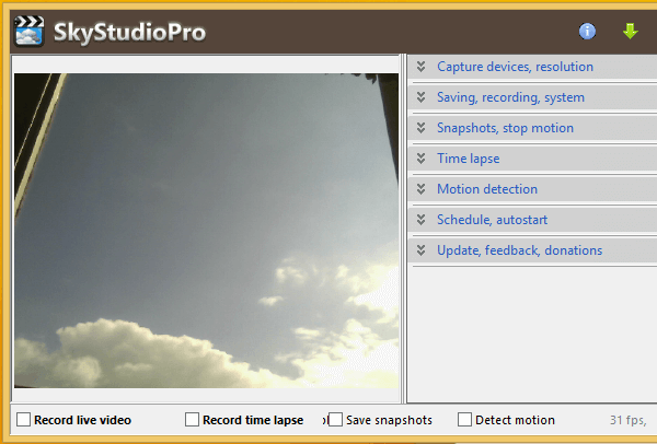 Shoot Time-Lapse Photos with a Webcam and SkyStudioPro 04