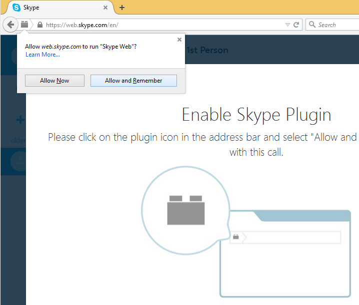 Skype Through Browser With Skype for Web 10
