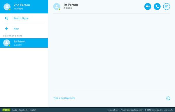 Skype Through Browser With Skype for Web 12