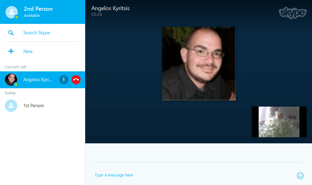 Skype Through Browser With Skype for Web 14
