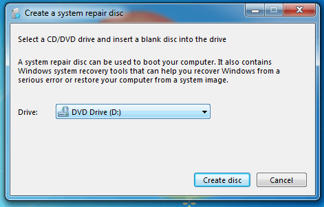 System Repair Disc - A Bootable Rescue CD-DVD-USB for Windows 02
