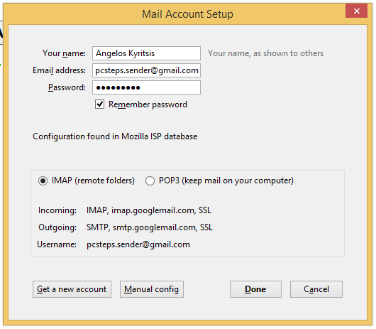Use Gmail with Thunderbird, for Offline Access and Backup 14