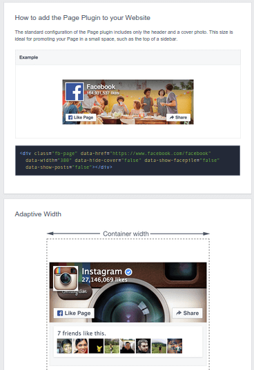 Add Facebook Page Plugin with Asynchronous Code 02a