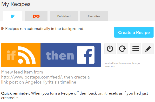 Auto Post to Facebook and Social Media with IFTTT 19