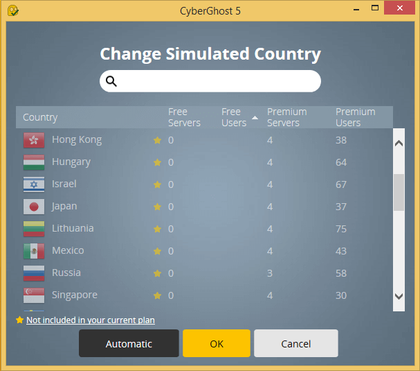 Browse Anonymously with CyberGhost Free VPN 16