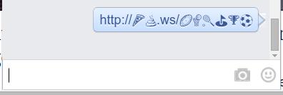 Emoji Link Shortening with linkmoji 05