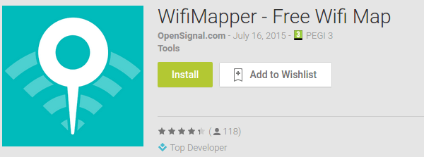 Free WiFi Hotspot - Find your Nearest with WiFiMapper 01