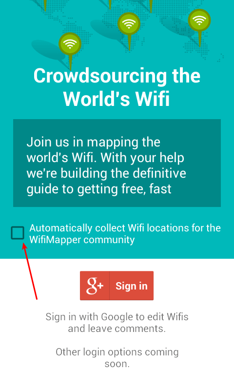 Free WiFi Hotspot - Find your Nearest with WiFiMapper 03