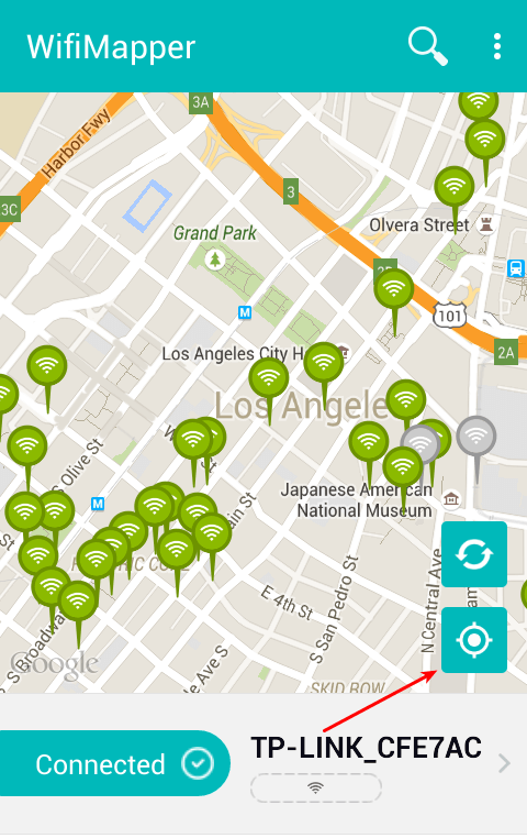Free WiFi Hotspot - Find your Nearest with WiFiMapper 04