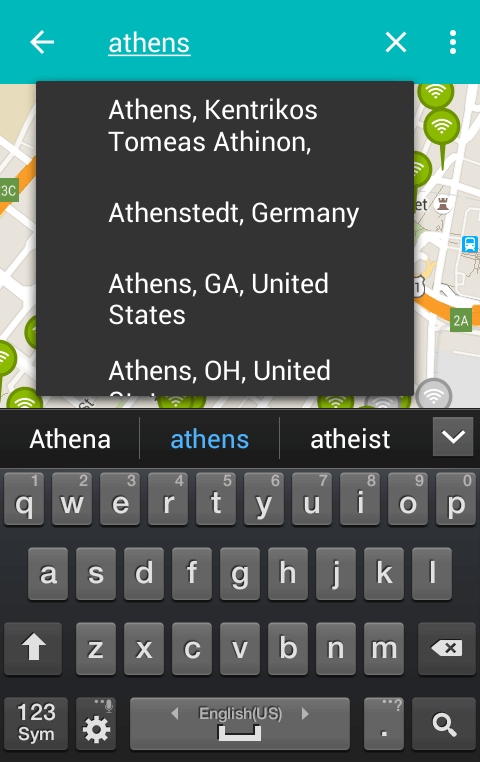 Free WiFi Hotspot - Find your Nearest with WiFiMapper 05