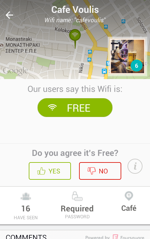 Free WiFi Hotspot - Find your Nearest with WiFiMapper 08