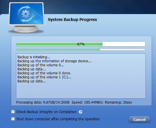 Full Windows Backup as an Image with AOMEI Backupper 13