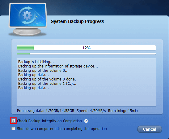 Full Windows Backup as an Image with AOMEI Backupper 14